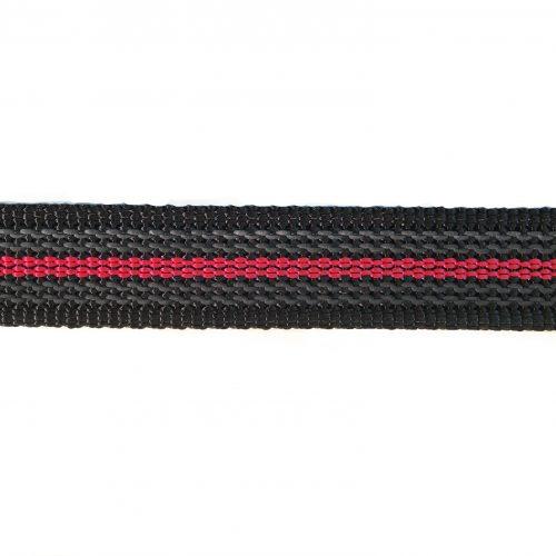 anti-sliplijn-zwart-rood