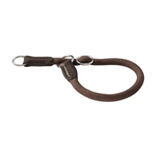 Hunter Freestyle Halsband met Stop Bruin 45x1