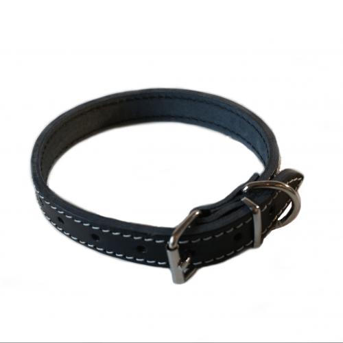 Halsband Leder 55 cmx25 mm