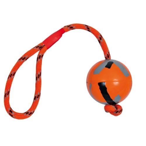 bal_koord_oranje_natuurruber_trixie_6cmx32cm