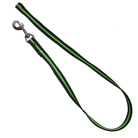 1 Meter lijn - Antislip zwart neon-groen
