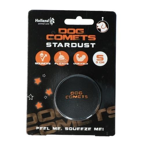 dog_comets_ball_startdust_zwart_oranje